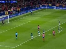 Atletico Madryt 2:0 Lokomotiw Moskwa
