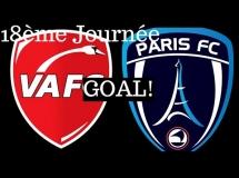 Valenciennes 1:0 Paris FC