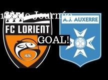 Lorient 1:0 Auxerre