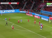 Bayer Leverkusen 0:1 Hertha Berlin