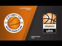 Maccabi Rishon 72:72 Ratiopharm Ulm