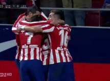 Atletico Madryt 2:1 Levante UD