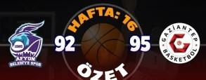Belediyespor 109:59 Gaziantep