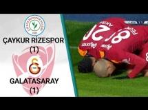 Rizespor 1:1 Galatasaray SK