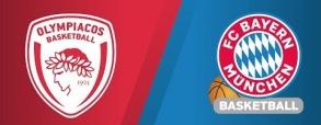 Olympiacos Pireus 89:72 Bayern Monachium