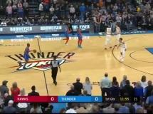 Oklahoma City Thunder 140:111 Atlanta Hawks