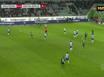 VfL Wolfsburg 1:2 Hertha Berlin