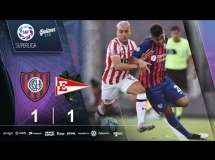 San Lorenzo 1:1 Estudiantes