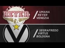 Venezia 71:83 Virtus Bologna