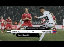 PAOK Saloniki 1:0 Volos