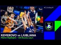 Kuzbass Kemerowo 2:3 ACH Volley Lublana