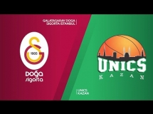 Galatasaray 90:76 UNICS Kazań