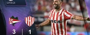 Estudiantes 5:0 Unión Santa Fe