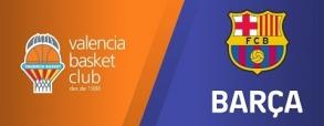 Valencia Basket 76:77 Barcelona Lassa