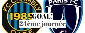Chambly 1:2 Paris FC