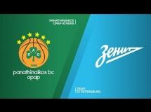 Panathinaikos 96:81 Zenit St Petersburg