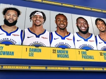 Golden State Warriors 142:115 Los Angeles Lakers