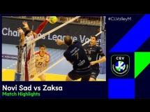 Vojvodina Nowy Sad 0:3 ZAKSA Kędzierzyn-Koźle
