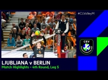 ACH Volley Lublana 2:3 Berlin Recycling Volleys