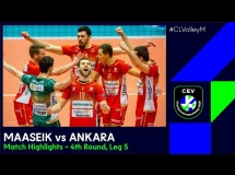Greenyard Maaseik 3:1 Halkbank Ankara