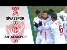 Sivasspor 1:1 Antalyaspor