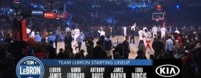 Team LeBron 155:157 Team Giannis
