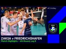 ZAKSA Kędzierzyn-Koźle 3:0 Friedrichshafen