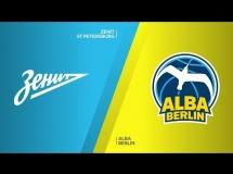 Zenit St Petersburg 81:83 ALBA Berlin