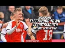 Fleetwood Town 1:0 Portsmouth FC