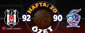 Besiktas 92:90 Belediyespor