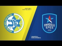 Maccabi Tel Aviv 77:75 Anadolu Efes