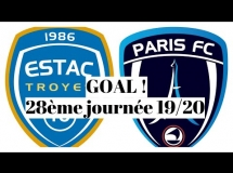 Troyes 1:1 Paris FC