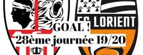 Ajaccio 1:0 Lorient
