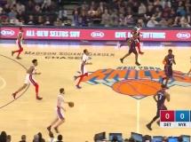 New York Knicks 96:84 Detroit Pistons