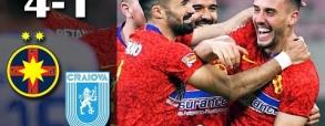 Steaua Bukareszt 4:1 Universitatea Craiova