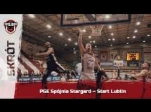 Spójnia Stargard 71:83 Start Lublin