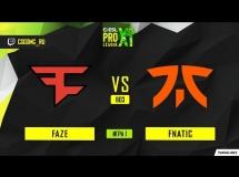 FaZe Clan 1:2 Fnatic