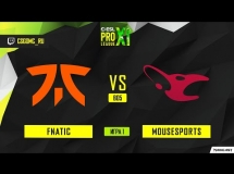 Fnatic 3:2 mousesports