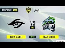 Team Secret 2:1 Team Spirit