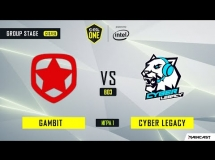 Gambit Esports 1:2 Cyber Legacy