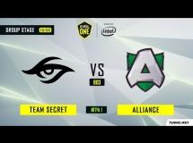 Team Secret 2:1 Alliance