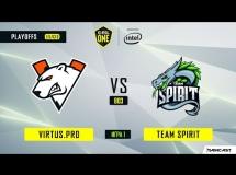 Virtus.pro 2:0 Team Spirit