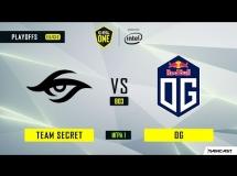 Team Secret 0:2 OG