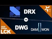 DragonX 2:1 DAMWON Gaming