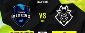 Movistar Riders 0:2 G2 Esports