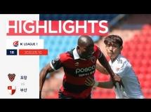 Pohang 2:0 Busan FC