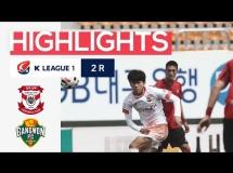 Sangju Sangmu - Gangwon FC