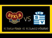 Dukla Praga 2:0 FC Slavoj Vysehrad