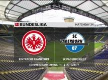 Eintracht Frankfurt 3:2 Paderborn