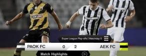 PAOK Saloniki 0:2 AEK Ateny